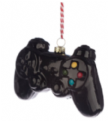 Game Controller Glass Christmas Bauble Decoration